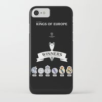 real madrid iPhone & iPod Cases featuring REAL MADRID by sokteulu