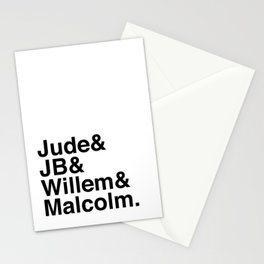 A Little Life - Jude JB Willem & Malcolm Stationery Cards