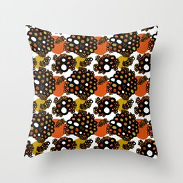atoms and molecules Throw Pillow