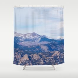 Estes Park Shower Curtain