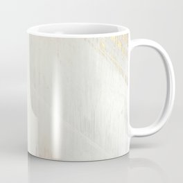 Sunrise [2]: a bright, colorful abstract piece in pink, gold, black,and white Coffee Mug