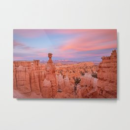 BRYCE CANYON SUNSET - UTAH NATIONAL PARK - LANDSCAPE NATURE PHOTOGRAPHY Metal Print