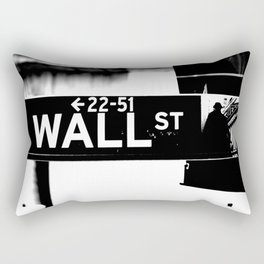 Wall Street Rectangular Pillow
