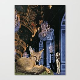 Fox in the House Canvas Print