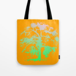 Psychedelic Willow Tote Bag