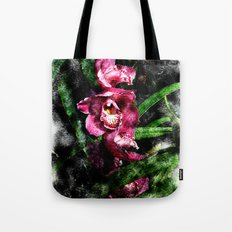 Rose Orchids Mirage Tote Bag