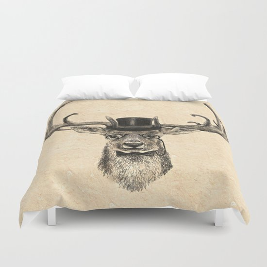 Mr Deer Duvet Cover