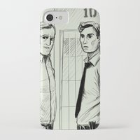 true detective iPhone & iPod Cases featuring True Detective by Hedgefield