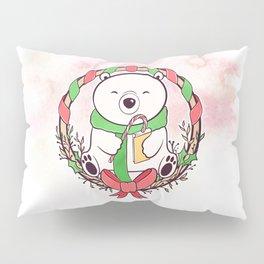 POLAR BEAR READS Pillow Sham