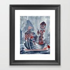 The River Styx Framed Art Print