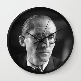 Rare Le Corbusier Potrait Wall Clock