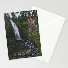 Obsidian Falls - Pacific Crest Trail, Oregon Stationery Cards
