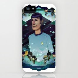 Mister Spock iPhone Case
