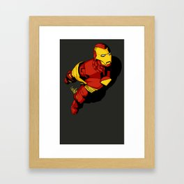 Starks In-Flight 2 Framed Art Print