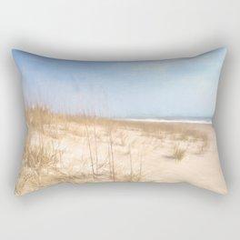 Warm Sand Dunes Rectangular Pillow