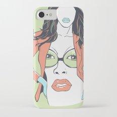 The face Slim Case iPhone 8