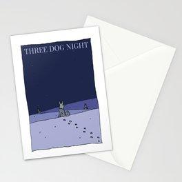Three Dog Night - Winter Stationery Cards