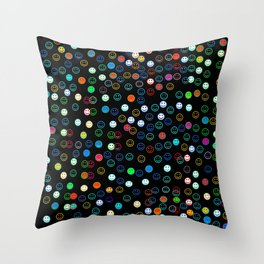 Humanity 02 Throw Pillow
