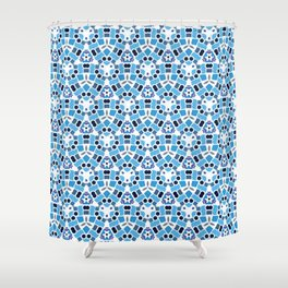 Meet Me By The Pool Shower Curtain