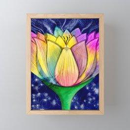 Lotus Framed Mini Art Print