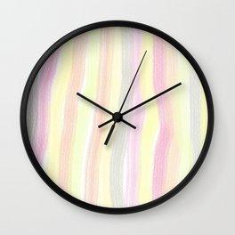 Striped color scheme Wall Clock