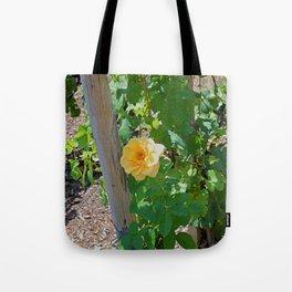 Rose In The Vine Tote Bag