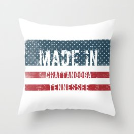 Made in Chattanooga, Tennessee Throw Pillow