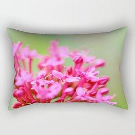 Valerian flower Rectangular Pillow