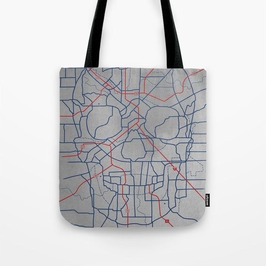 Death Toll Tote Bag