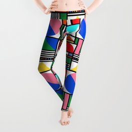 Bauhaus Village Leggings