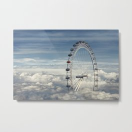 Ride Above the Clouds Metal Print