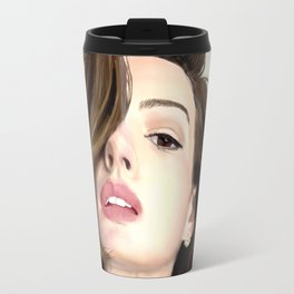 Pretty girl selfie Travel Mug
