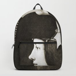 Bianca Sforza by Leonardo da Vinci Backpack