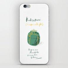 KINTSUKUROI iPhone & iPod Skin