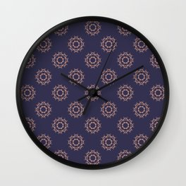 Floral Vintage pattern Wall Clock