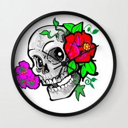 60's Skully Wall Clock