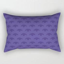I see Purple Rectangular Pillow