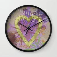focus Wall Clocks featuring Focus by Keagraphics