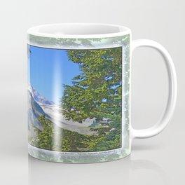 MOUNT BAKER FROM KULSHAN RIDGE Coffee Mug