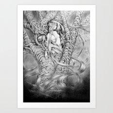 Driade 4 Art Print
