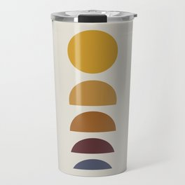 Minimal Sunrise / Sunset Travel Mug