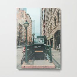 New York City Subway 2 Metal Print