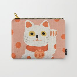 Abstraction_Lucky_Charm_Cat Carry-All Pouch