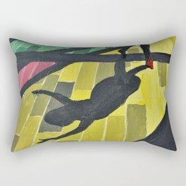 Dancer in Light Rectangular Pillow