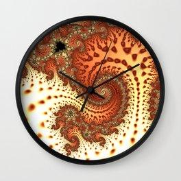 Fractal Art Wall Clock