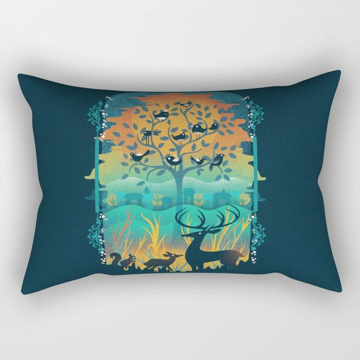 Natural Wonders Rectangular Pillow