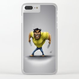 Let's go, bub! Clear iPhone Case