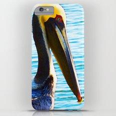 Big Bill - Pelican Art By Sharon Cummings Slim Case iPhone 6s Plus