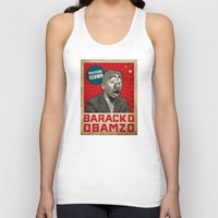 political Tank Tops featuring Political Clown by politics
