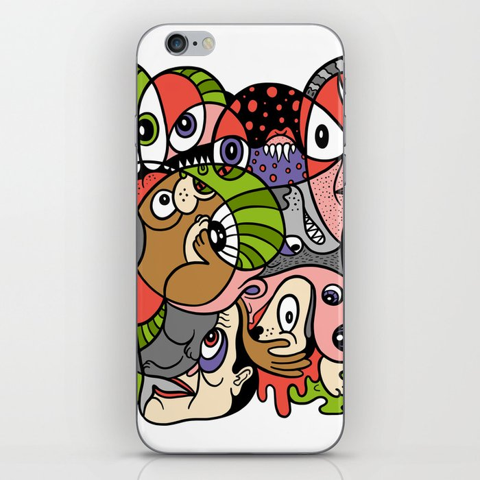 Daily Drawing 2321 iPhone Skin